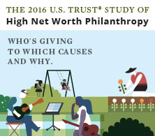 2016 U.S. Trust study of high net worth philanthropy reveals positive giving and volunteering forecasts for the coming years